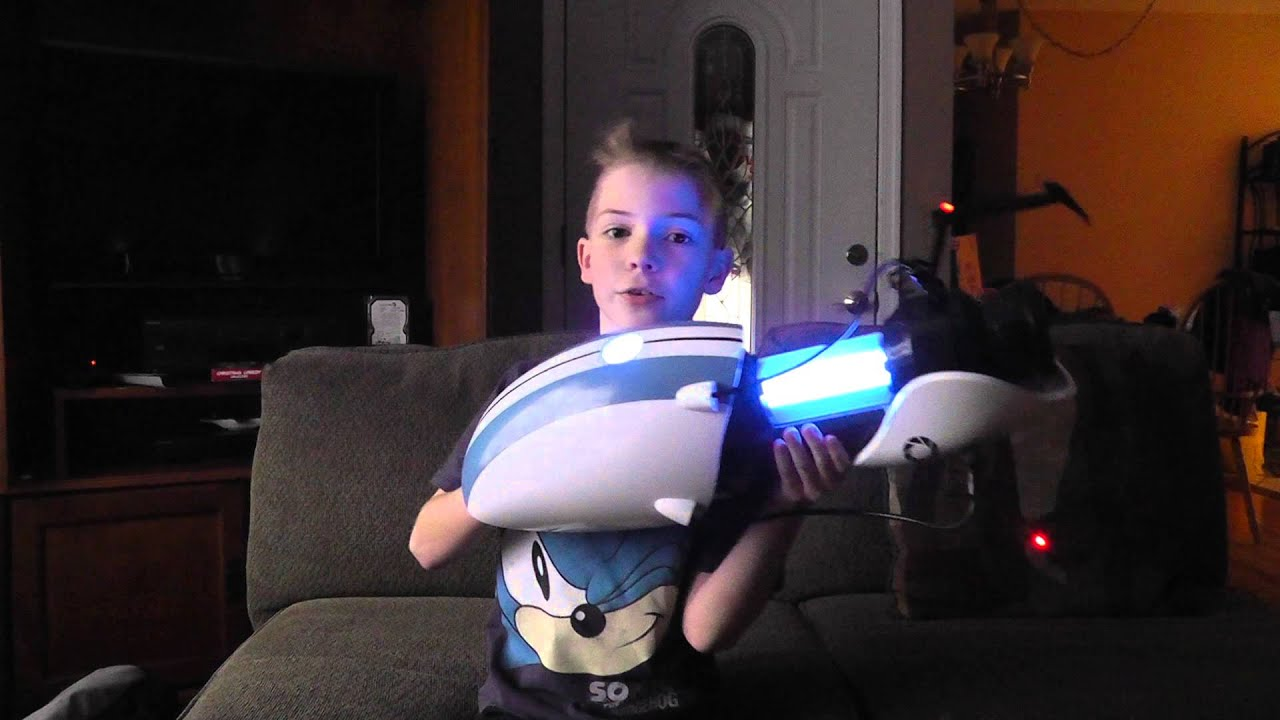 how to make your own portal gun