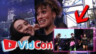 MY FIRST TIME PERFORMING AT VIDCON 2019!!! w/ Mahogany Lox & more!