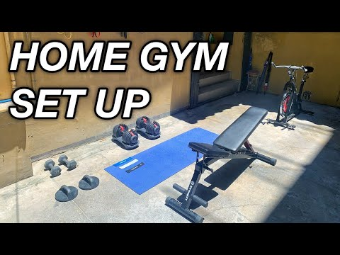 Philippines Home Gym Setup || Pull / Legs Workout