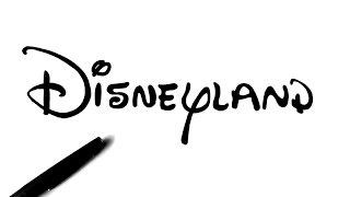 Comment dessiner le logo Disneyland