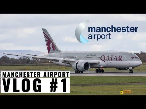 Vlog #1: Exploring Manchester Airport