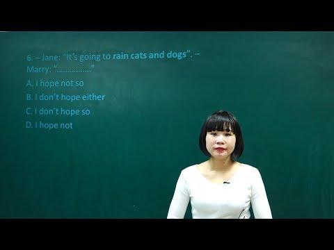 Luyện Đề thi thử THPT QG môn Anh năm 2018 - Đề số 4 (P1) | Ngữ pháp tiếng anh ôn thi đại học