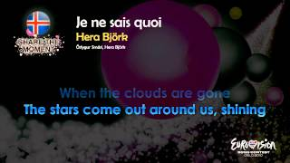 """Hera Björk - """"Je Ne Sais Quoi"""" (Iceland) - [Karaoke version]"""