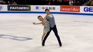 Чэн Пэн - Ян Цзинь. Произвольная программа. Пары. Skate America. Гран-при по фигурному катанию