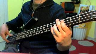 Average White Band - Cut The Cake (Bass Cover by Jecks)