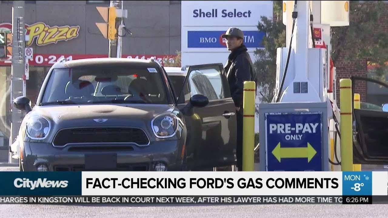 Kingston Gas Prices >> Fact Checking Doug Ford S Gas Price Comments
