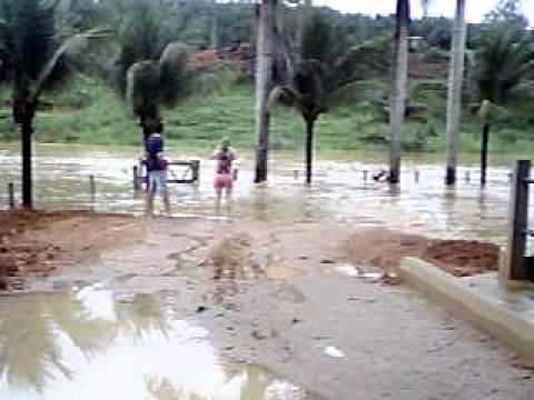 ENCHENTE RIO BANANAL 2012