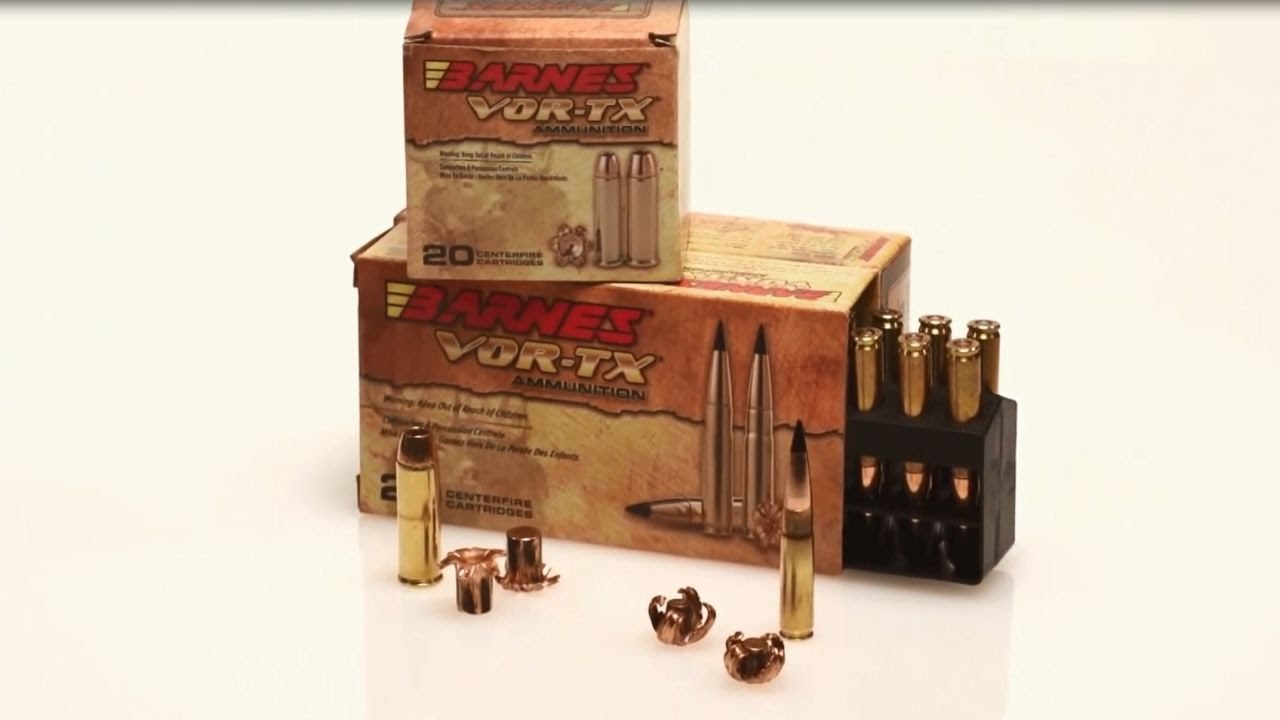 Newest Additions to the Barnes VOR-TX Ammunition Line ...