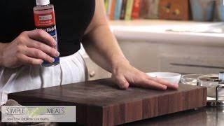 Three Ways To Clean A Cutting Board.