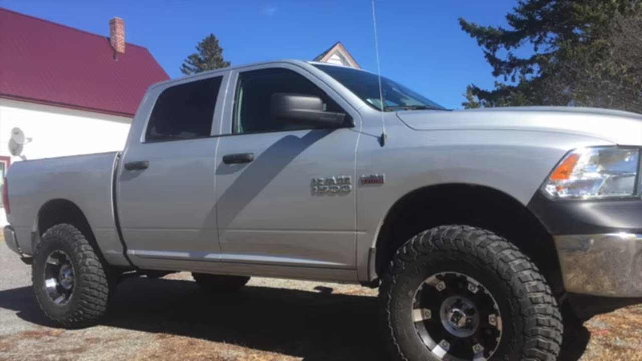 Dodge Ram 1500 Tires >> Lifted Dodge Ram 1500 6 Lift 37 Tires