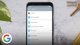 Nest Aware : comment personnaliser les notifications dans l'application Nest - Google France