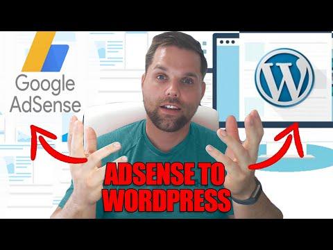 How to add Google Adsense to Wordpress - OneHourProfessor.com