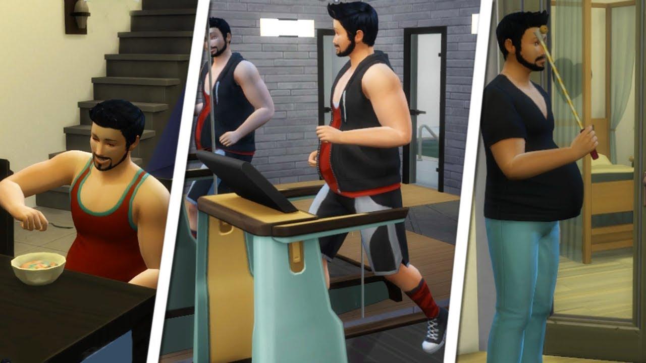 Sims 4 jak schudnąć saunia