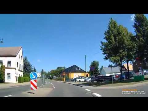 D: Löbschütz. Stadt Zwenkau. Landkreis Leipzig. Ortsdurchfahrt. August 2017
