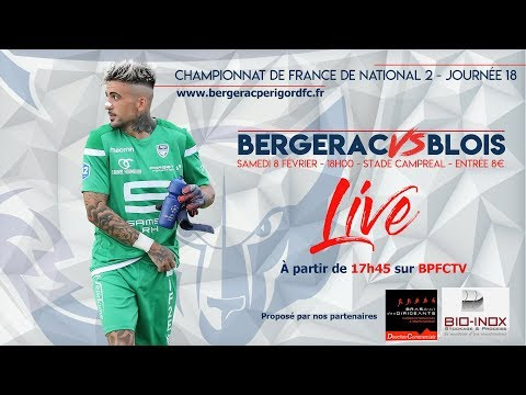Bergerac Périgord FC - Blois Foot 41
