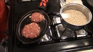 Deer Burgers On The Bayou Cajun Style.