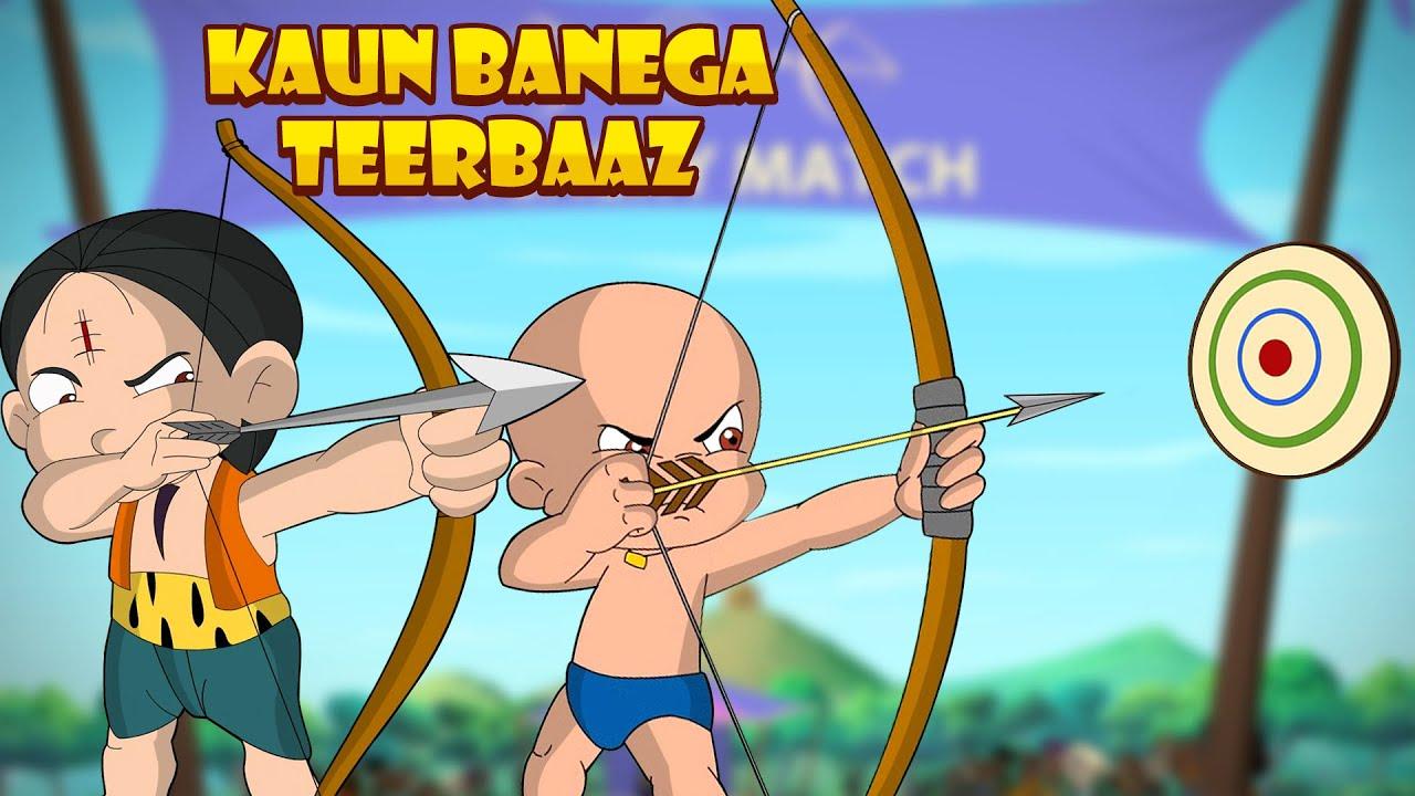 Chhota Bheem - Kaun Banega Teerbaaz | Cartoon for Kids for Hindi