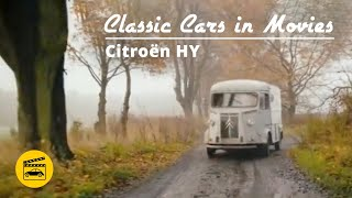Classic Cars in Movies - Citroen HY