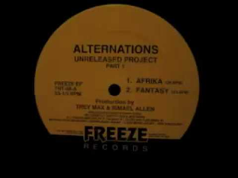 Alternations - Unreleased Project Part 1 (Underground Mix EP)