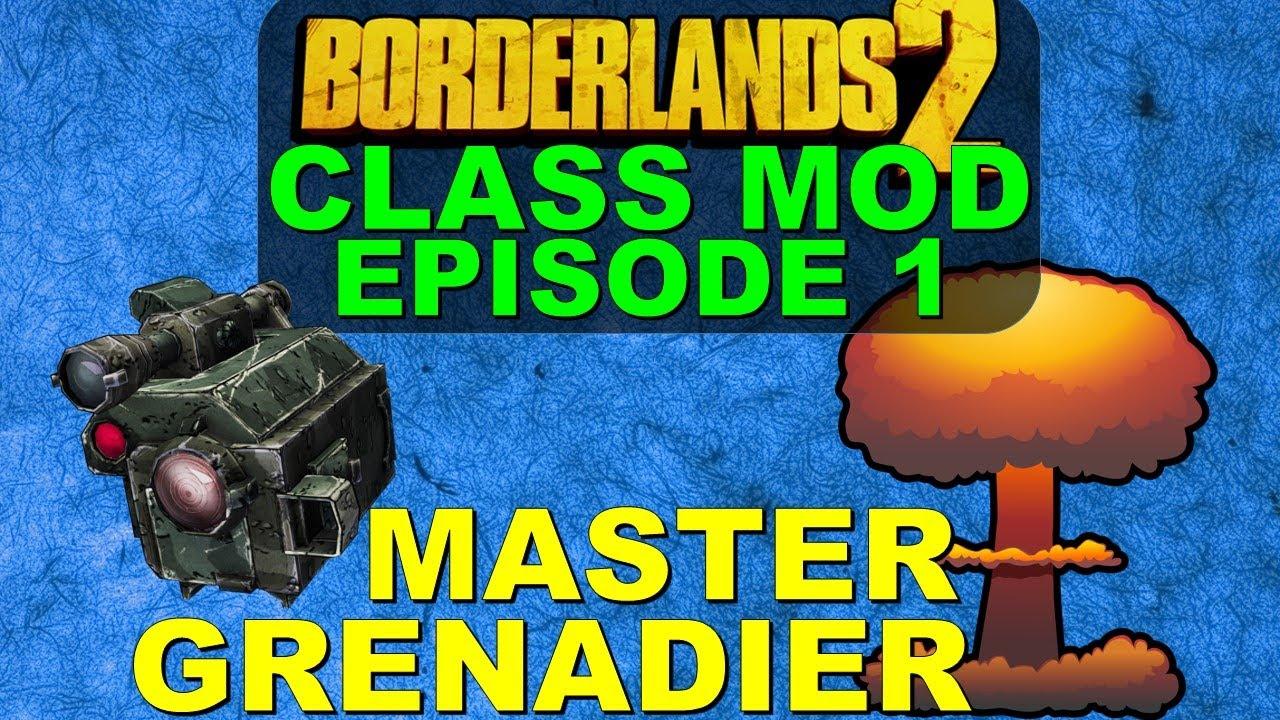 Grenadier Class Mod | Episode 1 | Borderlands 2 Commando Purple Class Mod  Build