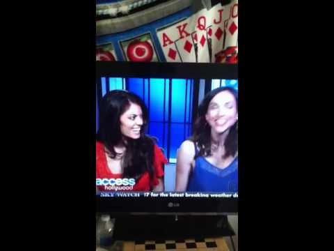 All My Children stars lindsay hartley and Eden riegel on acce