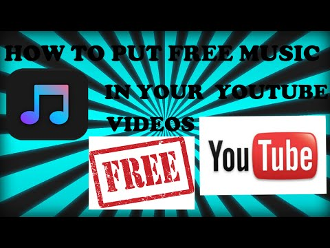 HOW TO PUT MUSIC INTO YOUR YOUTUBE VIDEOS!!!