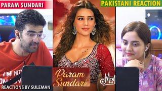 Pakistani Couple Reacts To Param Sundari Song   Mimi   KritiSanon   Shreya Ghoshal