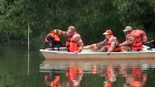 Water Search Dog Training