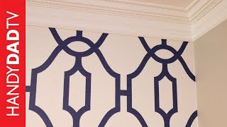 Magnolia Home Wallpaper by Joanna Gaines | Master Bedroom Makeover (Part 1)
