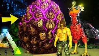 ARK: Annunaki - BIGGEST ABERRATION EGG EVER! GIANT FEATHERLIGHT! (32) - Ark Survival Evolved