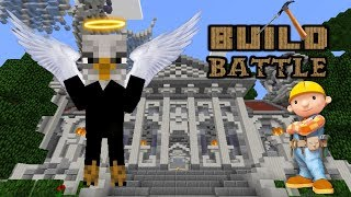 Build Battle Minigame - Ep. 3 - | Angel | - Minecraft Pe