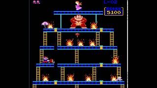 Donkey Kong Redux Crazy on Fire (Gameplay Video and Download Link)