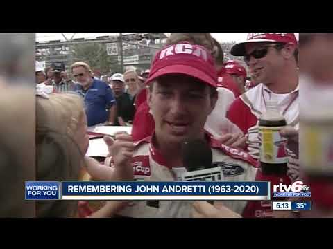 John Andretti Dies At Age Of 56