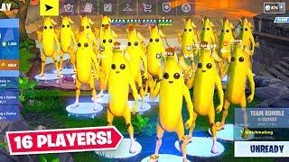 16 Player Squad MEMES in Fortnite! ft. Lazarbeam & AlexAce