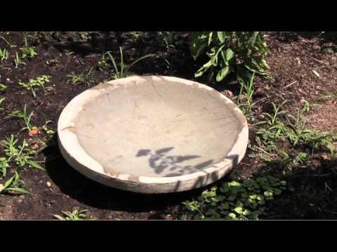 Dan 39 S Concrete Birdbath Revealed Youtube