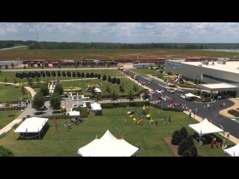 Flyworx Aerial: Corporate Event at Powertech - Kia