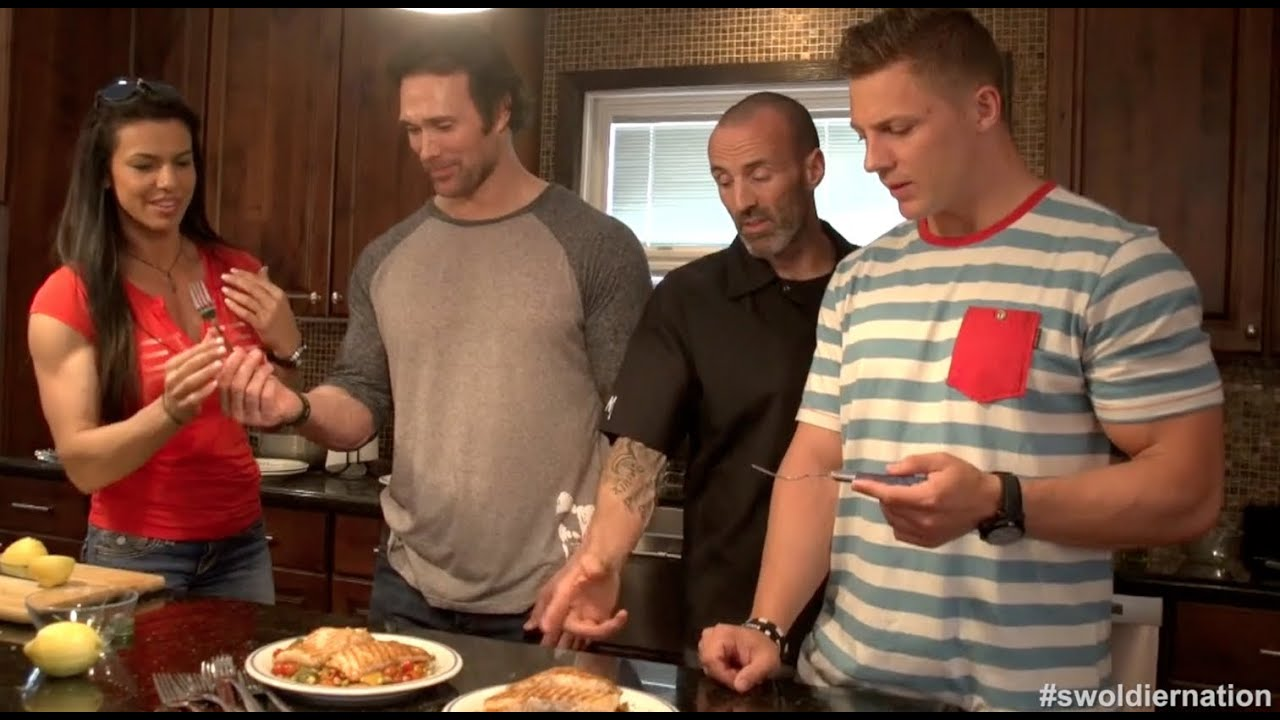 swoldier nation cooking edition mike ohearn amp gavin