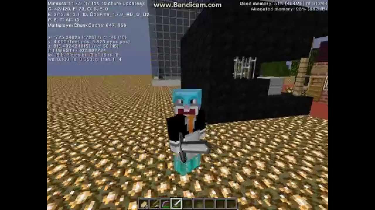 Скачать R3d Craft для Minecraft 1.7.2 128x128