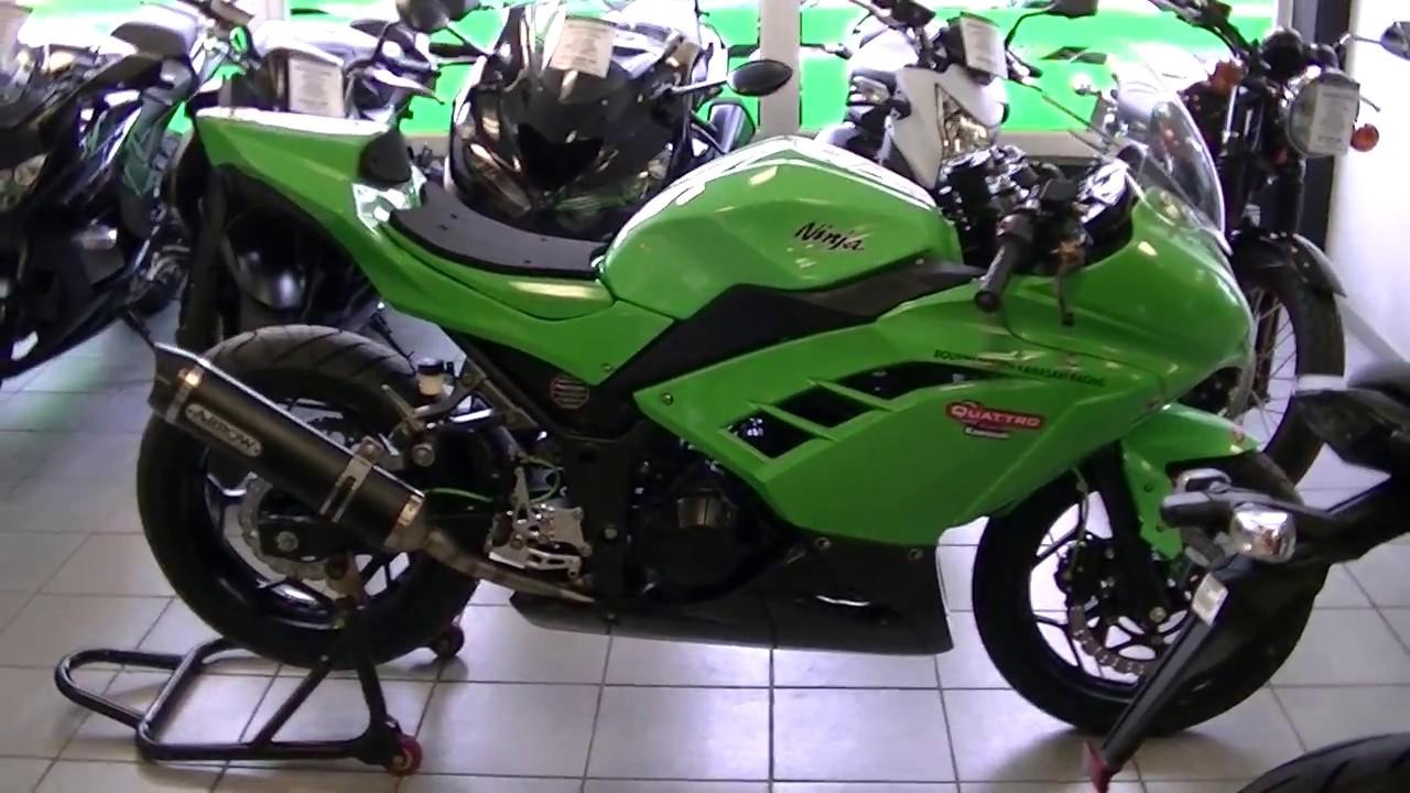 Kawasaki Ninja 300 Track Bike 2014 Youtube