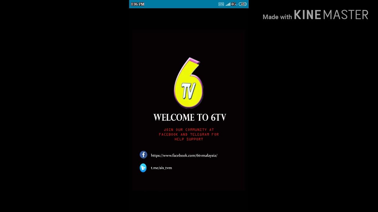 Free Live Tv 6tv Siaran Malaysia Versi Terbaru⬅️⬅️sila