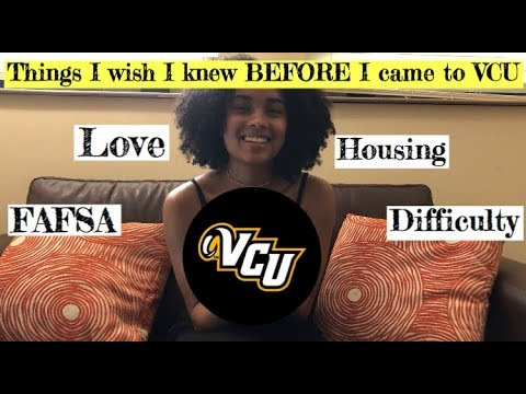Things I Wish I knew BEFORE College | VCU EDITION