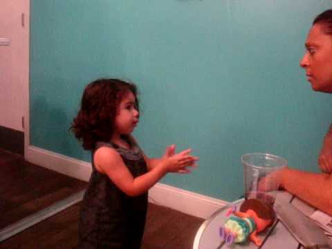 Sofia loves to argue with Julie! lol