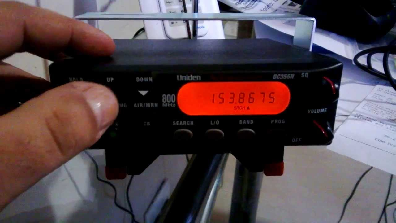 uniden bc350c manual