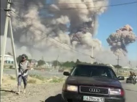Explosions at the ammo depot in Kazakhstan | March 24th 2019