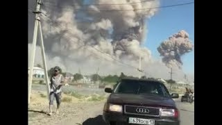 Explosions at the ammo depot in Kazakhstan   March 24th 2019
