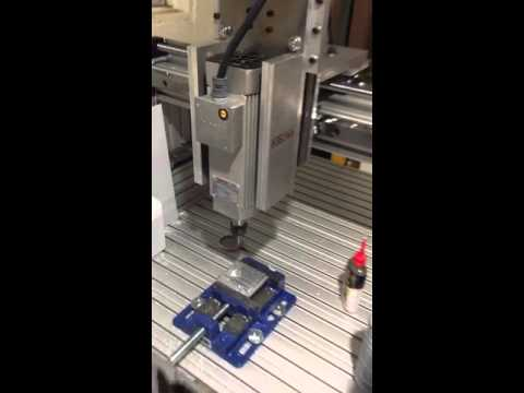 Homemade (DIY) CNC milling aluminum, rigid and 2.2 kW!