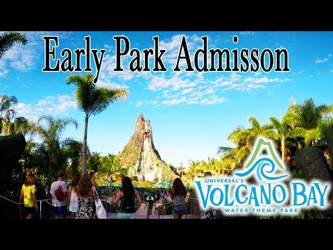 Volcano Bay Early Park Admission explained the best time on TeAwa and a chat woth Vol