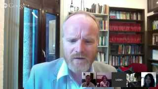 Miracles of Human Language- The first Google Hangout!