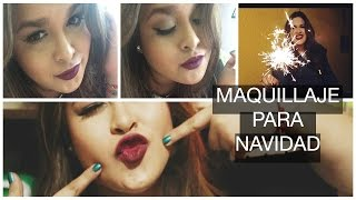 MAQUILLAJE PARA NAVIDAD|| Christmas night MAKEUP Thumbnail