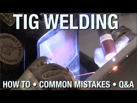 Learn The Basics Of TIG Welding & Understand Common Mistakes - A Live Demonstration From Eastwood